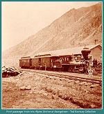CCRR, First passenger train into Alpine Station at Georgetown -- (Image 00110) (125k)