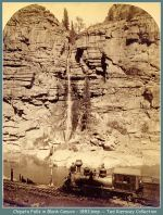 Chipeta Falls - Black Canyon - 1883(Image 00140) (190k)