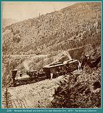 Colorado Central Railroad -Between Black Hawk and Central City near Mountain City - 1879 (Image 00174) (152k)