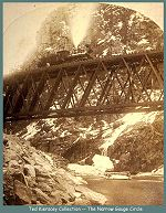 The Crystal River Bridge near Cimarron -- 1882 --