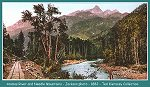 Animas River and Needle Mountains -Jackson photo - 1882 -(115k)
