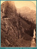 Canyon of the Rio De Las Animas - 1881-(195k)